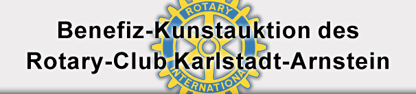 Benefiz-Kunstauktion des Rotary Club Karlstadt-Arnstein